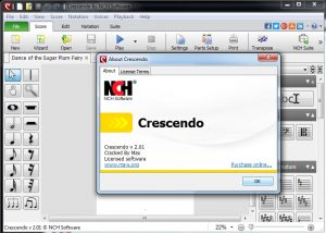 Crescendo Music Notation Editor v2.09 Cracked By Max