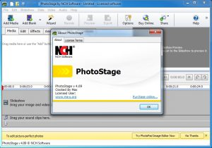 PhotoStage Slideshow Software v 4.09 cracked By Max
