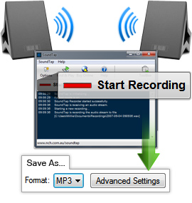 audio recorder computer