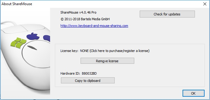 ShareMouse Pro 4.0.46 Cracked By Abo Jamal