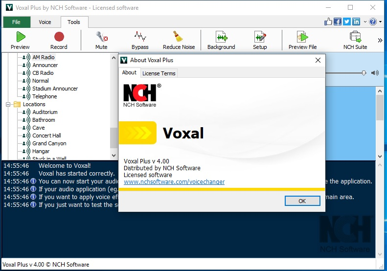 Voxal Voice Changer V4.00 Cracked By Abo jamal