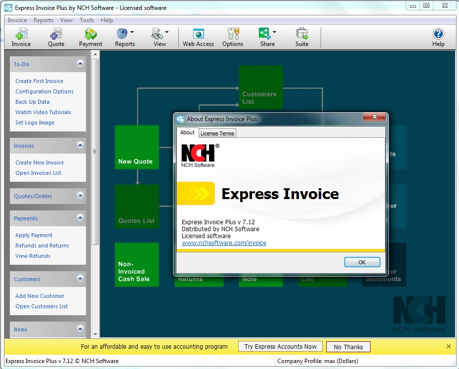 Express Invoice Invoicing v7.12 Cracked By Abo jamal