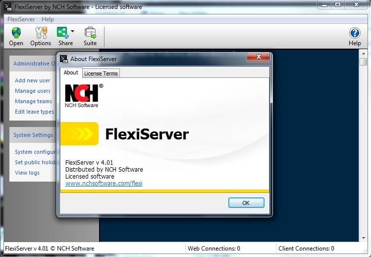 FlexiServer v4.01 Cracked By Abo jamal