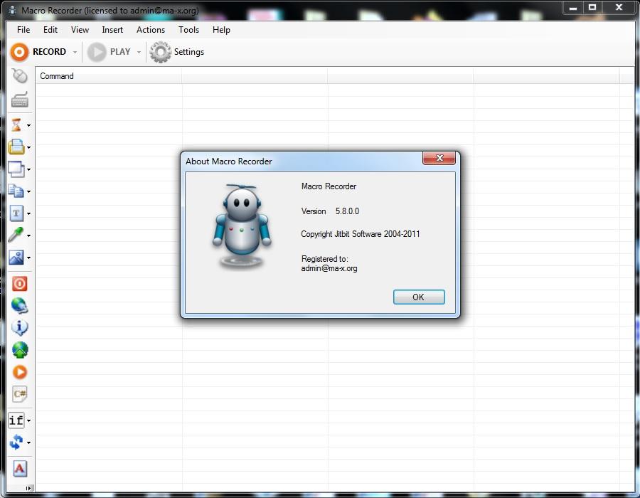 MacroRecorder v5.8.0 Cracked By Abo Jamal