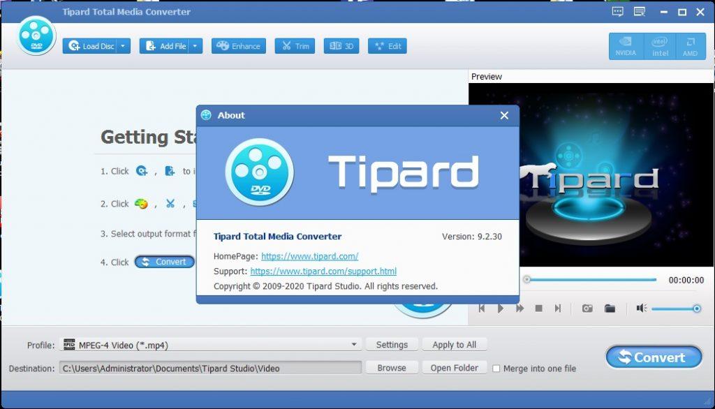 Tipard Total Media Converter v9.2.30 Cracked By Abo Jamal