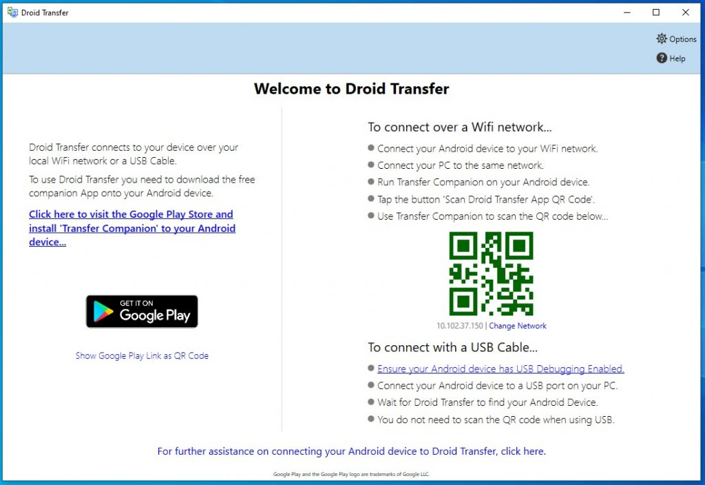 Droid Transfer V1.50 Cracked By Abo jamal