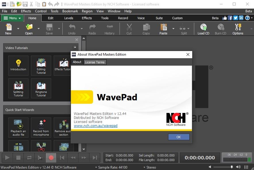 WavePad Masters Edition v12.44 Cracked By Abo Jamal