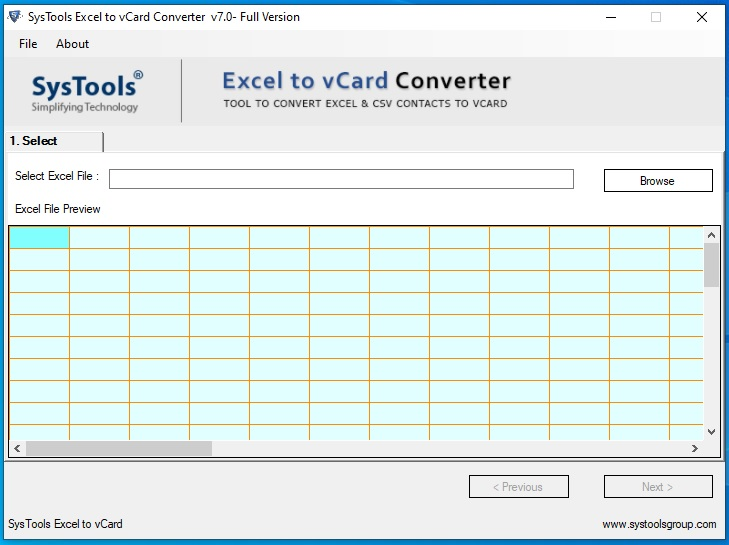 SysTools Excel to vCard Cracked By Abo Jamal