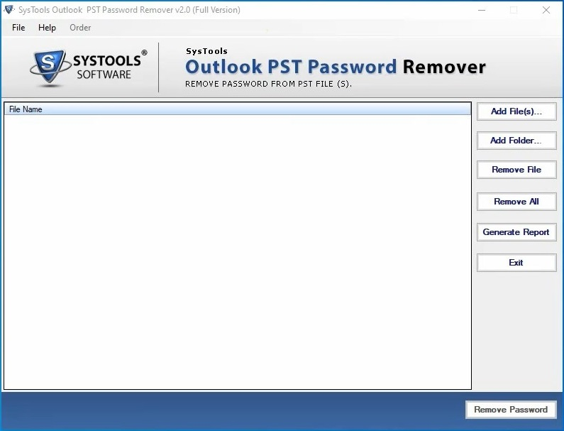 SysTools Outlook PST Password Remover v2 Cracked By Abo Jamal